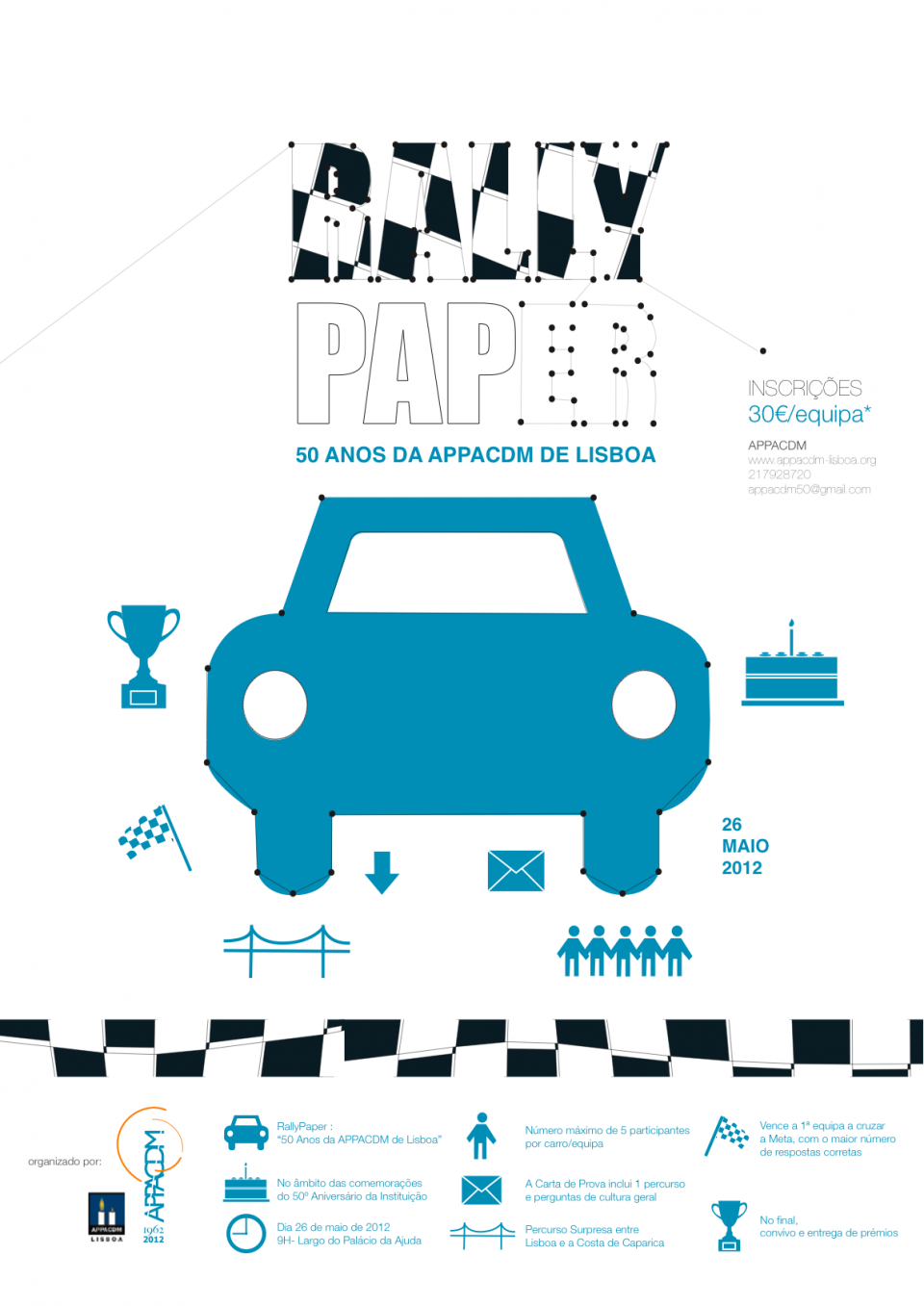 Imagem do cartaz Rally Paper