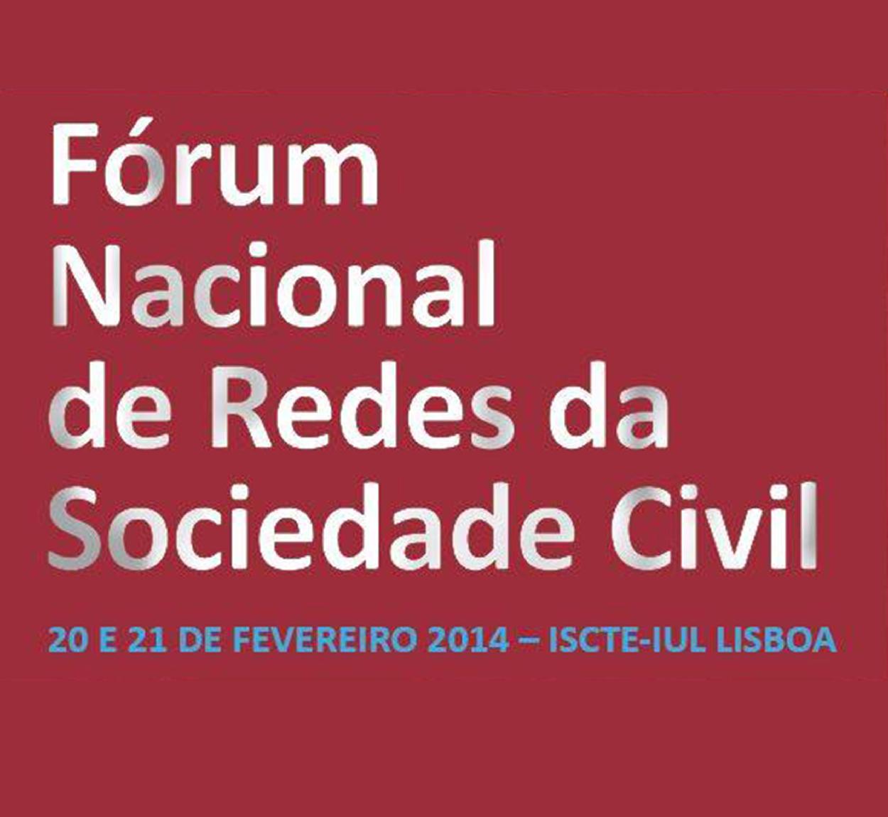 forum redes da sociedade civil